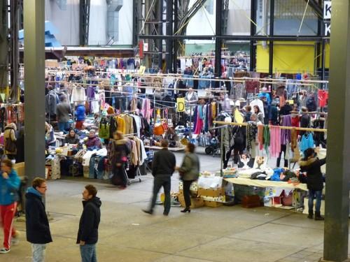Vlooienmarkt, IJ-hallen, Amsterdam