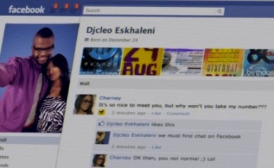Facebook song of DJ Cleo (South-Africa)