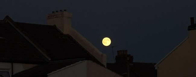 Moon in Gillingham